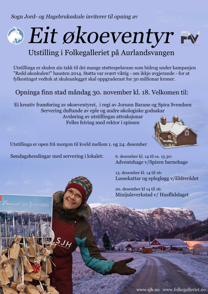 Økoeventyret i Aurland, 30. november, 2015